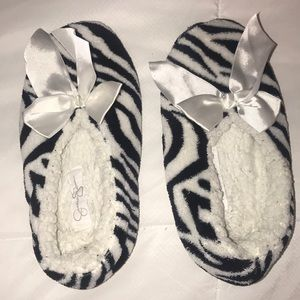 Shoes - Jessica Simpson fitted slippers